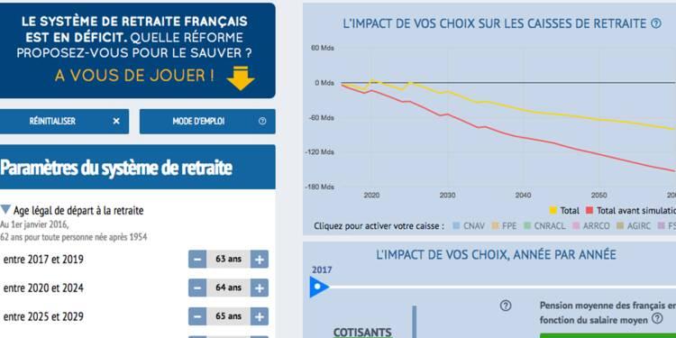 A vous de sauver le système de retraite français !
