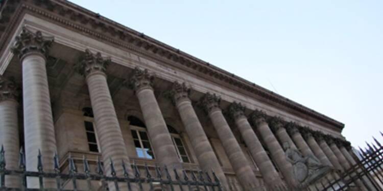 Forte baisse du CAC 40, les bancaires inquiètent
