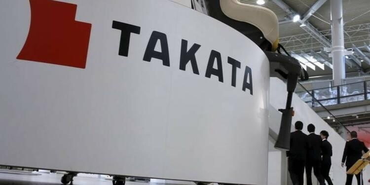 Takata confirme son objectif de bénéfice net annuel