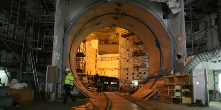 """Cuve de l'EPR de Flamanville: les premiers résultats des essais sont """"très encourageants"""", selon EDF"""