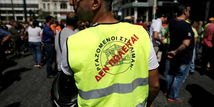 Manifestation en Grèce contre les privatisations