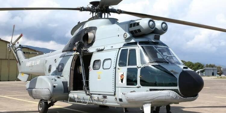 La tête de rotor au centre de l'enquête sur le crash d'un Puma