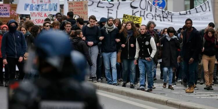 Des milliers d'étudiants et de lycéens dans la rue