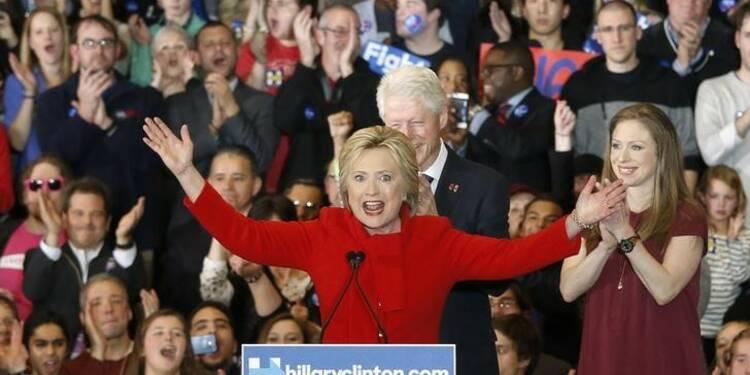 Hillary Clinton a remporté le caucus de l'Iowa, selon son équipe