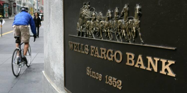 Etats-Unis: amende de 1,2 milliards de dollars infligée à la banque Wells Fargo