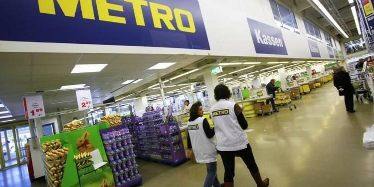 L'allemand Metro renonce à coter ses activités russes