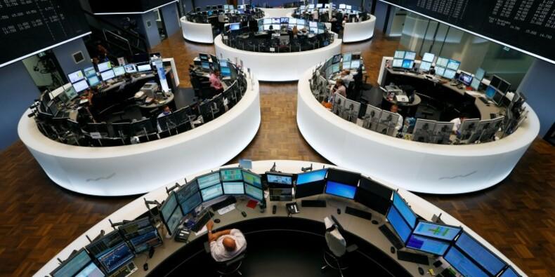 Les Bourses de la zone euro plongent avec Draghi, l'euro monte