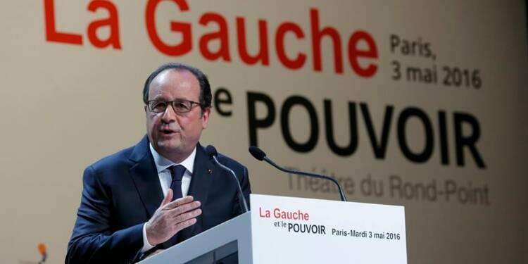 Hollande défend son bilan de président de gauche réformiste