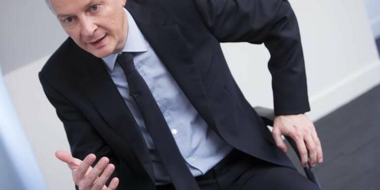 """Bruno Le Maire voterait la loi El Khomri """"en l'état"""""""