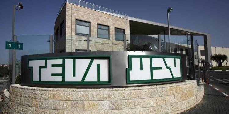 Le bénéfice de Teva baisse moins que prévu au premier trimestre