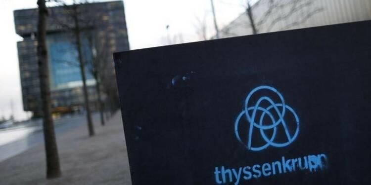 ThyssenKrupp promet des emplois avec ses sous-marins en Australie