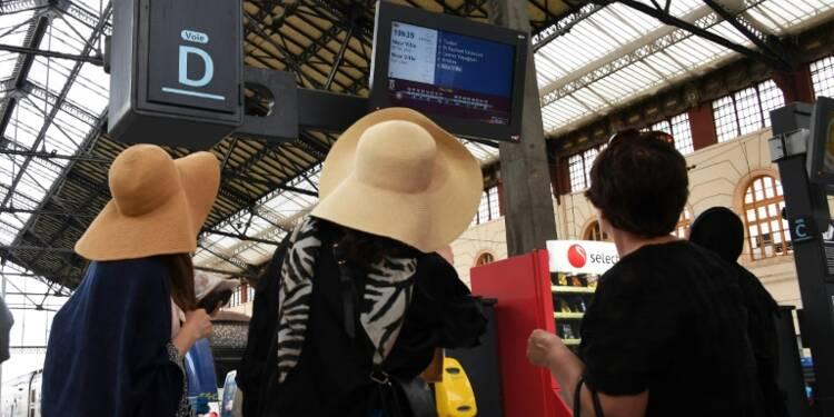 Journée noire pour les usagers de la SNCF