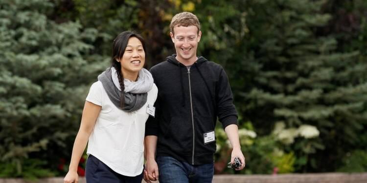 Mark Zuckerberg léguera sa fortune à sa nouvelle fondation