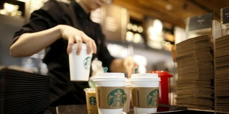Starbucks fait moins bien que prévu