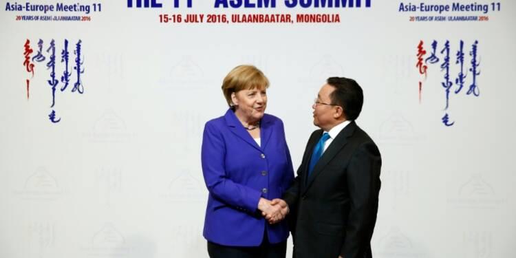 Le sommet Europe-Asie endeuillé par l'attentat de Nice