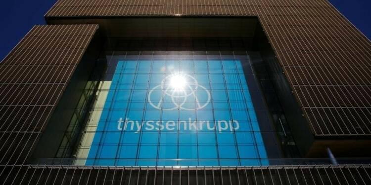 Thyssenkrupp accélère la réduction de ses coûts