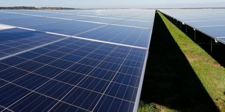 La première centrale photovoltaïque d'Europe voit le jour en France