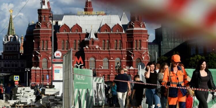 """Le """"niet"""" de certains Moscovites à la coûteuse rénovation du centre-ville"""
