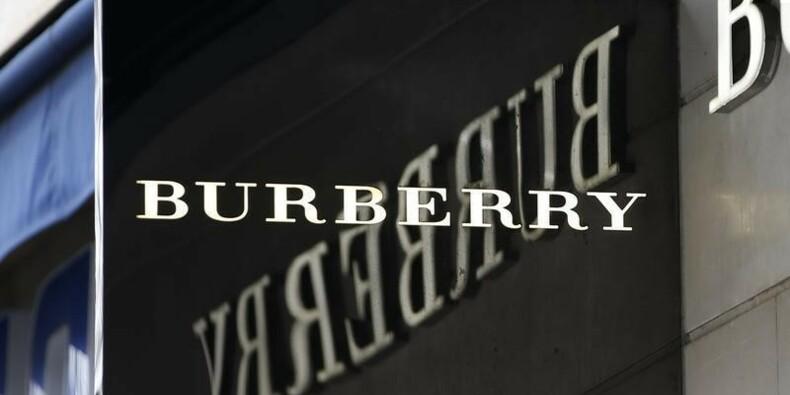 Burberry réorganise le pôle détail après une baisse du bénéfice