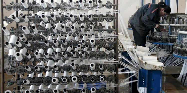 Baisse des indices PMI des services et manufacturier chinois