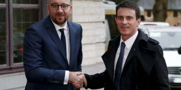 France et Belgique vont renforcer la coopération sécuritaire