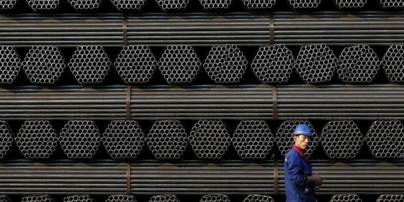Premier recul de la production mondiale d'acier depuis 2009