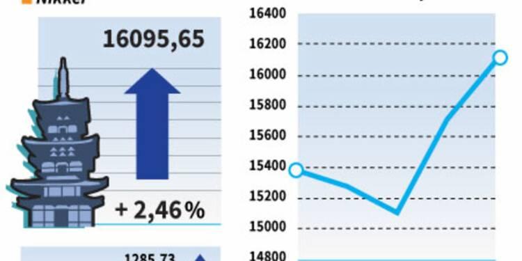 La Bourse de Tokyo grimpe en attendant des mesures de relance
