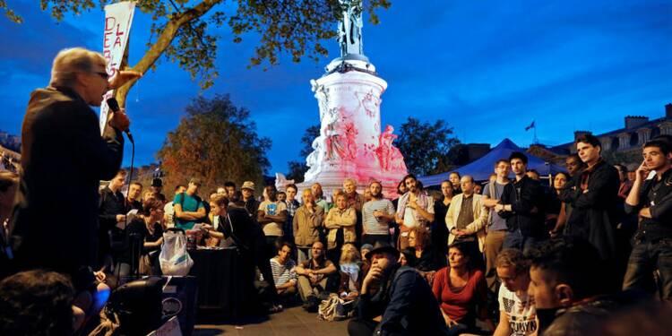 """Nuit Debout"" tente de se relancer en s'internationalisant"