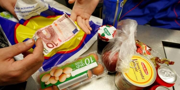 Hausse de 0,1% des prix à la consommation en France en avril