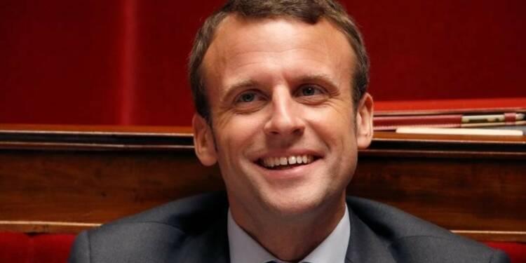 La cote d'Emmanuel Macron comme candidat présidentiel progresse