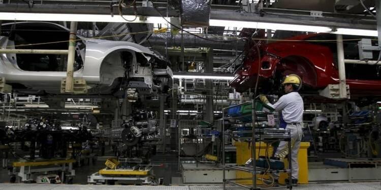 Poursuite de la baisse de l'activité manufacturière au Japon