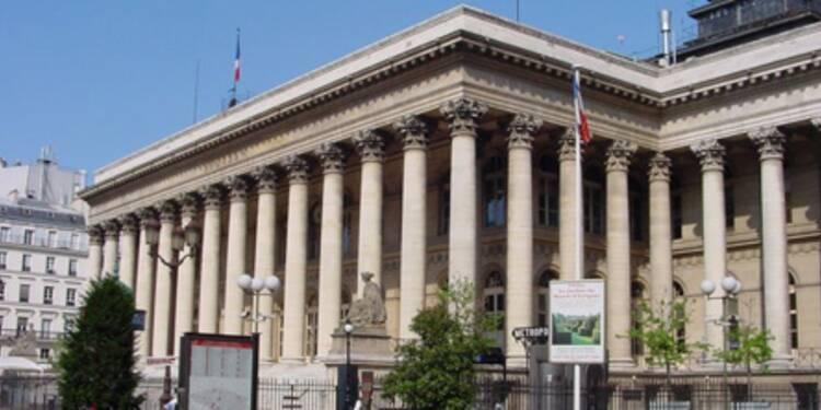 Quatrième séance de baisse d'affilée à la Bourse de Paris