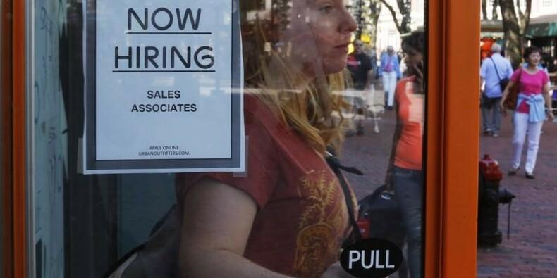 Les créations d'emploi aux USA au plus bas depuis sept mois