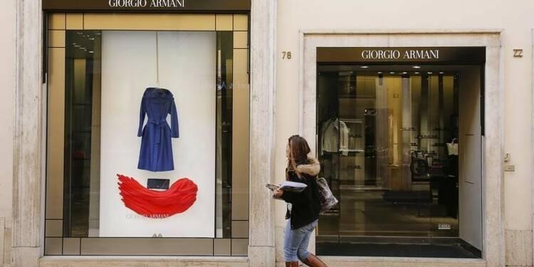 Giorgio Armani voit sa croissance ralentir