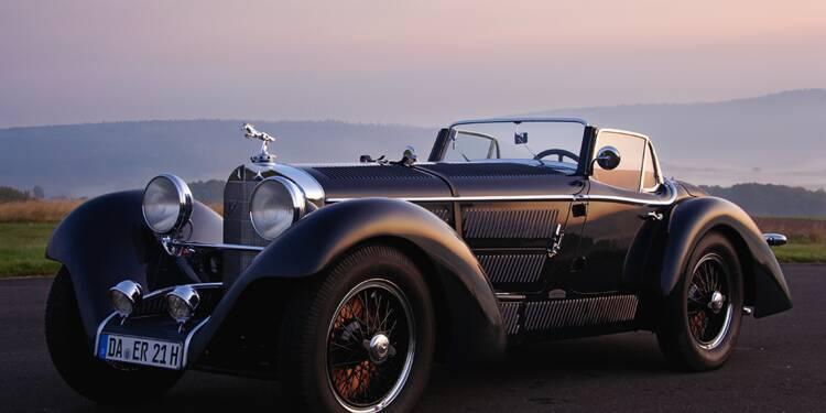 Mercedes SS, 1928 :  Une sifflante Walkyrie pour pilotes émérites