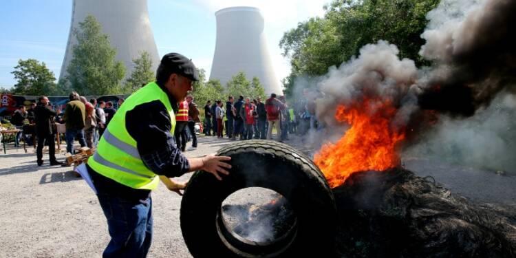 Loi travail : des baisses de charge dans dix centrales nucléaires
