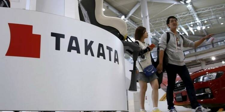 Nouveau rappel de 5 millions de véhicules dotés d'airbags Takata
