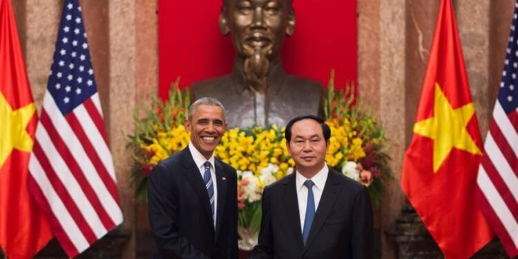 Vietnam: Obama lève l'embargo sur les ventes d'armes