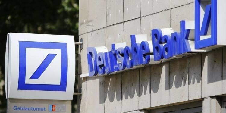 Deutsche Bank tout juste bénéficiaire au 2e trimestre