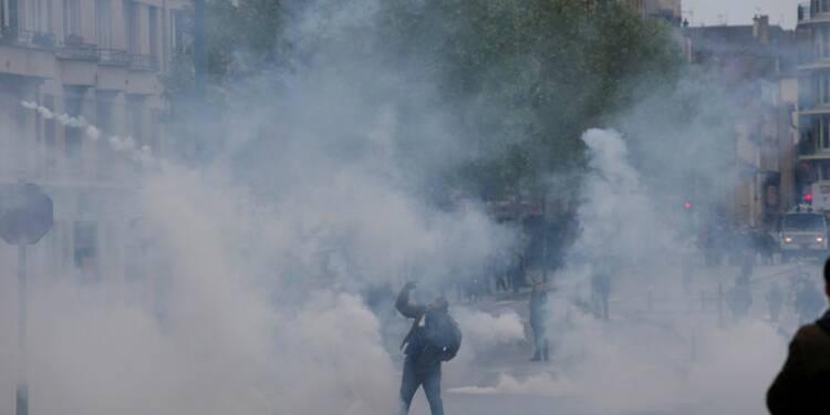 La police fait échec à une manifestation interdite à Rennes