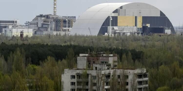 Des riverains de retour à Tchernobyl 30 ans après