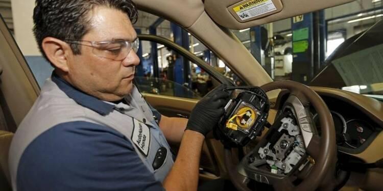 Honda va étendre le rappel de voitures équipées d'airbags Takata