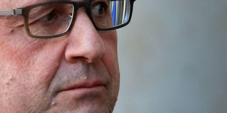 Hollande dit vouloir présider jusqu'au bout et sans calcul