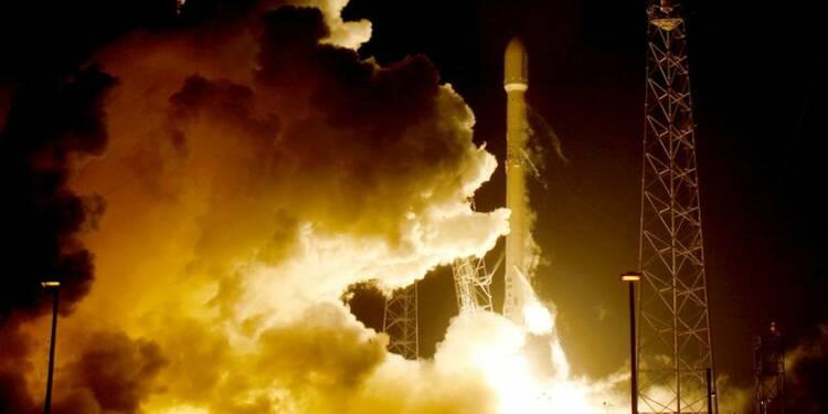 Une fusée Falcon 9 tirée avec succès par SpaceX