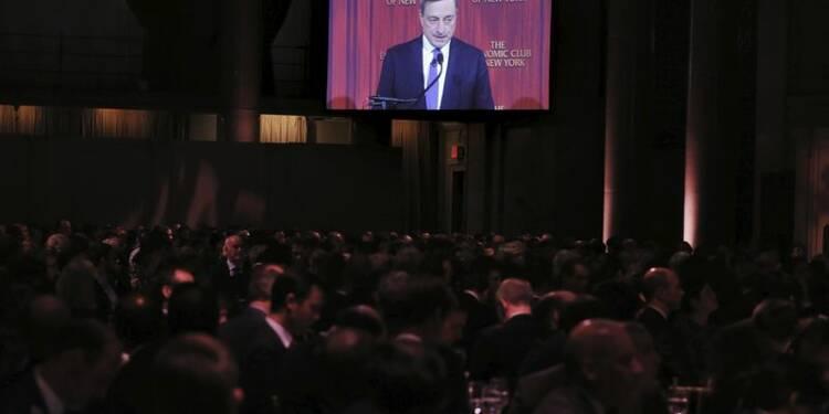 Draghi n'exclut pas d'autres mesures de soutien si nécessaire