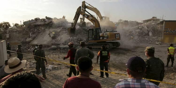 Le bilan du séisme en Equateur atteint les 525 morts