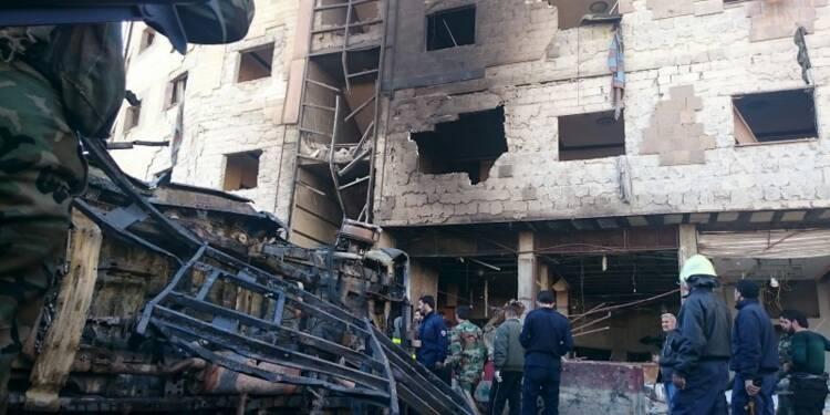 Les explosions à Damas ont fait plus de 70 morts, selon l'OSDH