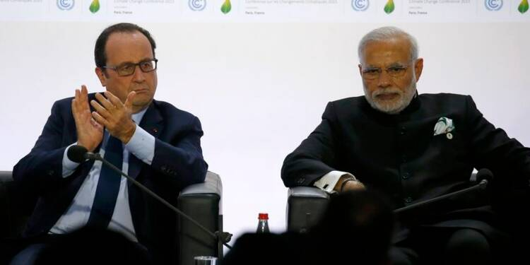 "L'""Alliance solaire internationale"" lancée en marge de la COP21"