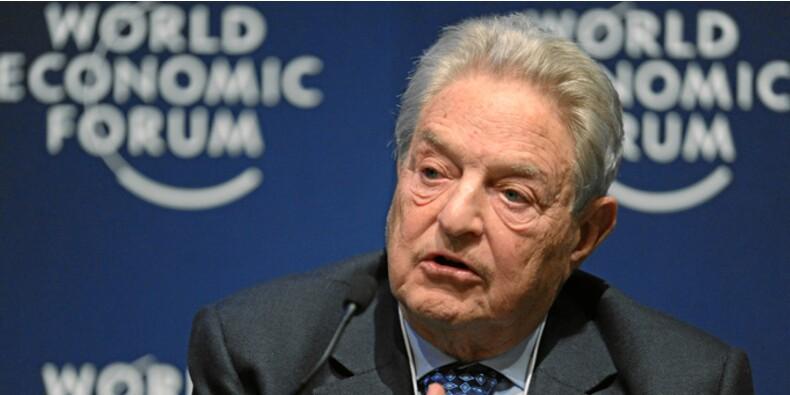 Le spéculateur George Soros mise sur la chute des actions américaines et des monnaies asiatiques