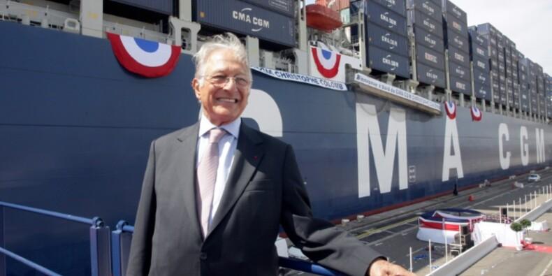CMA CGM, le marseillais d'origine libanaise devenu n°3 mondial du transport maritime